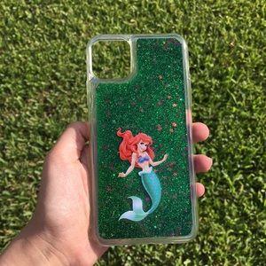 Little Mermaid Ariel Disney Quicksand iPhone Case